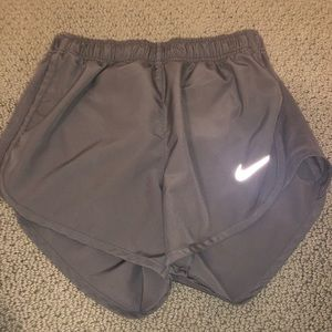 Grey Nike dry fit shorts